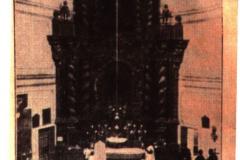 Retablo de la Iglesia antes de la guerra