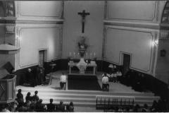 Altar, cuando la misa se daba de espaldas